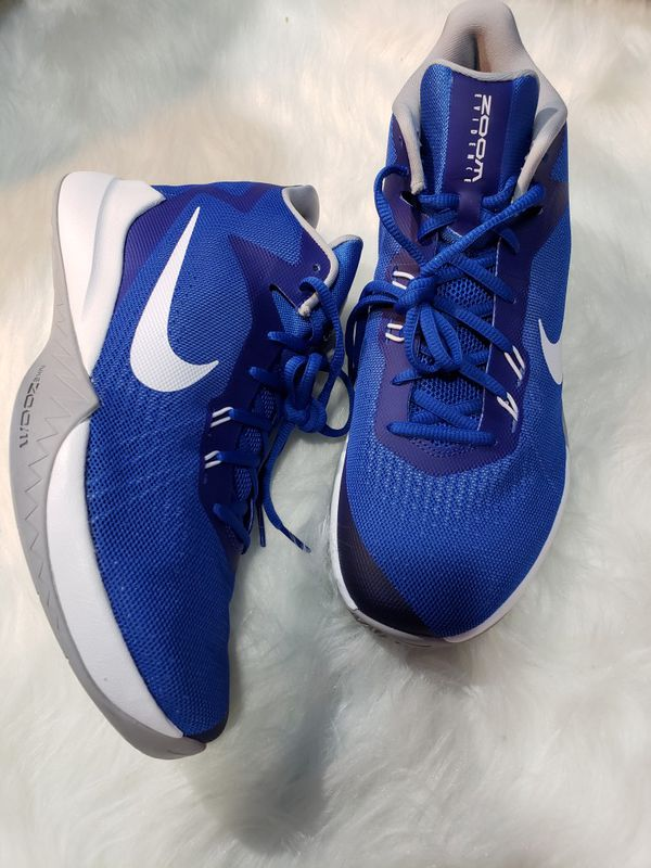 meet 9107d 6c5f3 NIKE Zoom Evidence Blue Athletic Shoe Size 10 New
