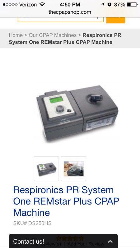 Remstar plus Cpap machine for Sale in Phoenix, AZ - OfferUp