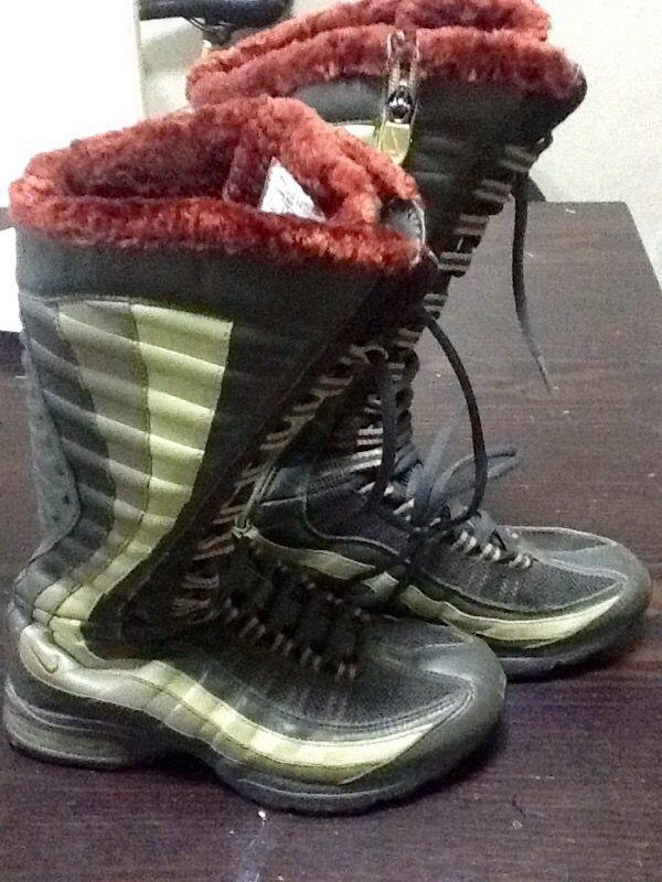 buy online b16e8 8f44e canada nike air max 95 zen venti green sneaker boots for women for sale in  251eb