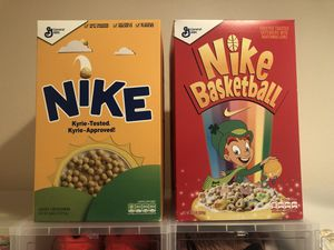 245a4f1537217 Kyrie 4 Lucky Charms 11 and Kix 10.5 Special Cereal Boxes for Sale in Huntington  Beach