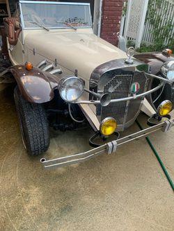 Mercedes Benz -SSK Deluxe- Gazelle 1929 kit-car Thumbnail
