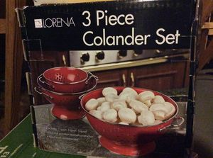 3 piece Colander Set for Sale in Glen Allen, VA