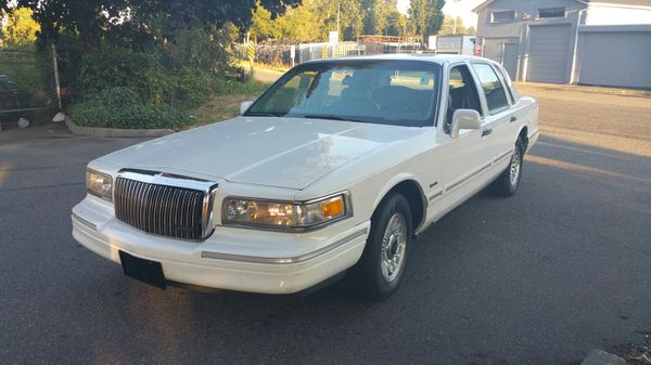 1997 Lincoln Town Car Executive For Sale In Tacoma Wa Offerup