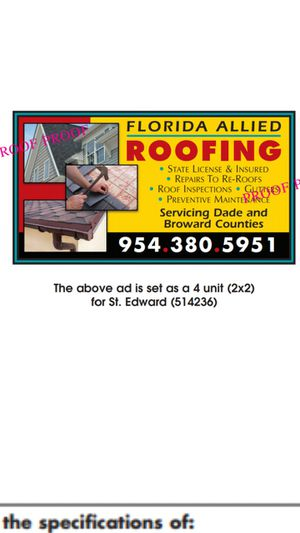 Florida Allied Roofing for Sale in Hialeah, FL
