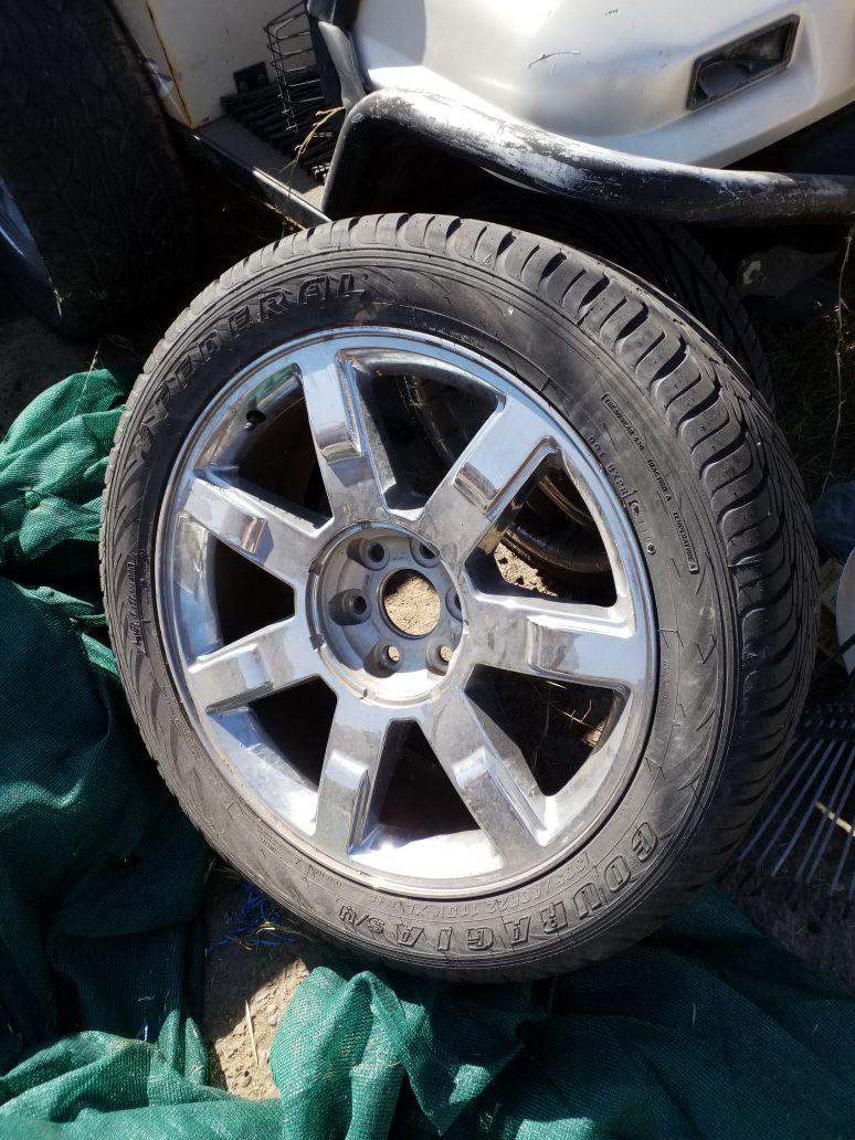22in Cadillac wheel