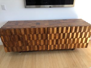 Recovered wood 4 door Credenza $599 for Sale in Los Angeles, CA