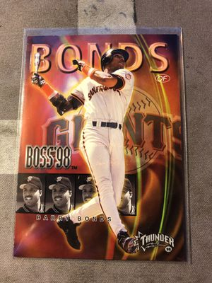 1998 (GIANTS) Circa Thunder Boss #2 Barry Bonds for Sale in Fresno, CA