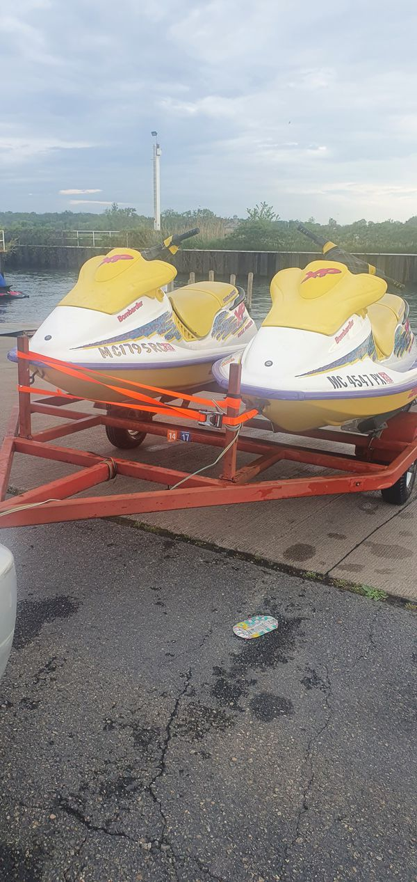 2 seadoo 1995 xp with trailer price is firm