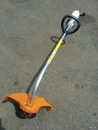 Grandma Eats Cans Electric Weed Eater Stihl
