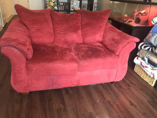Red couch set for Sale in McKinney, TX - OfferUp