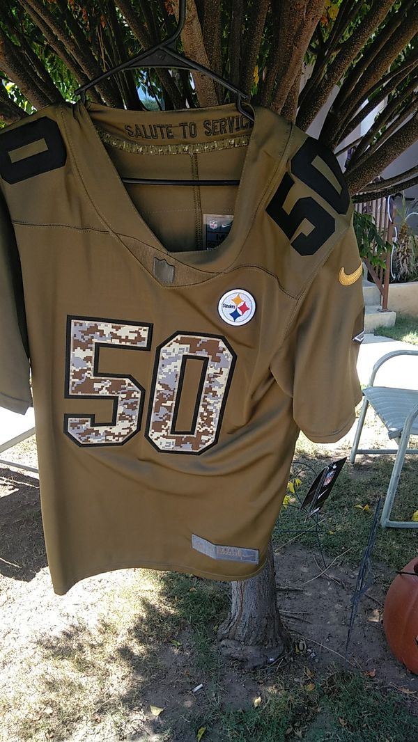 military steelers jersey