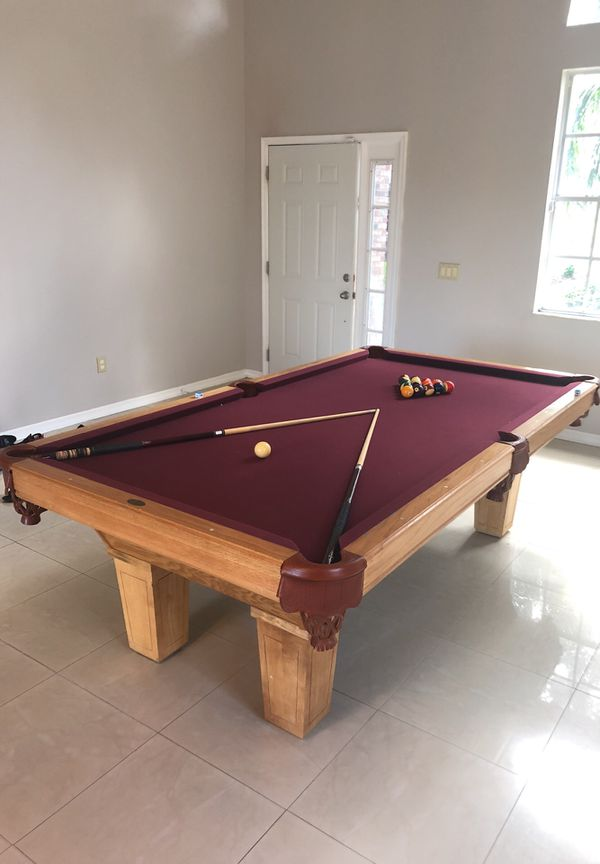 Free Pool Table We Are Moving Into A Smaller Home It Still Looks - Pool table movers orlando fl