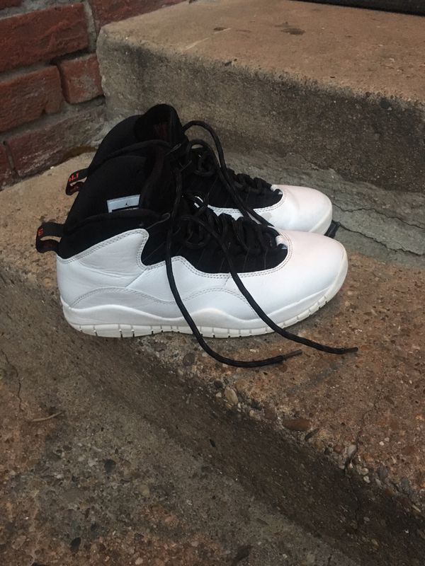 "super popular e8cc8 81ed0 Jordan retro 10s ""im back"" size 9 good condition for Sale in Adelphi, MD -  OfferUp"