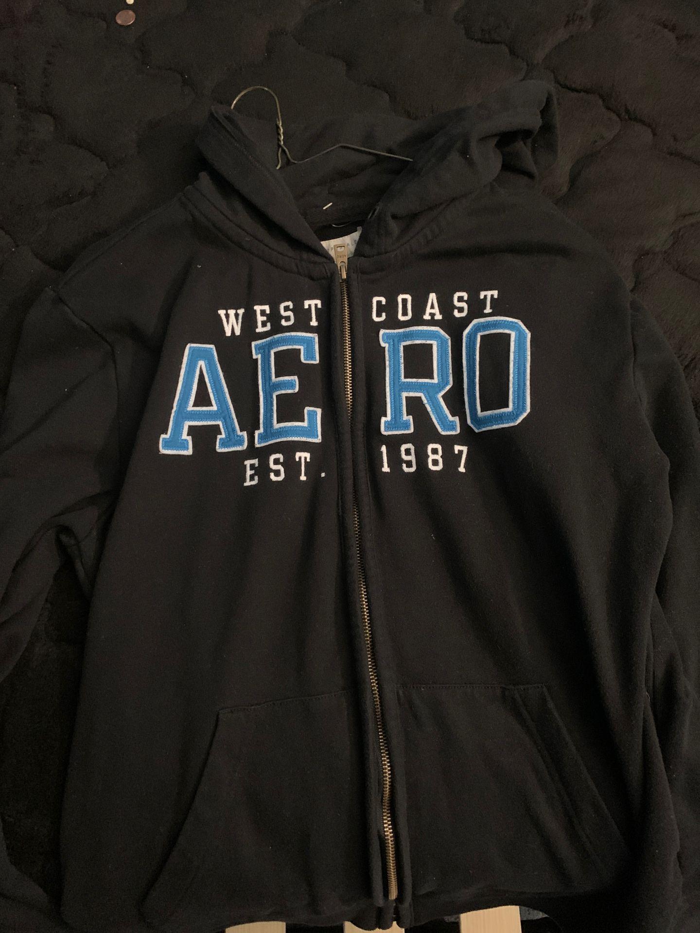 West Coast Aeropostale Zip Up Jacket