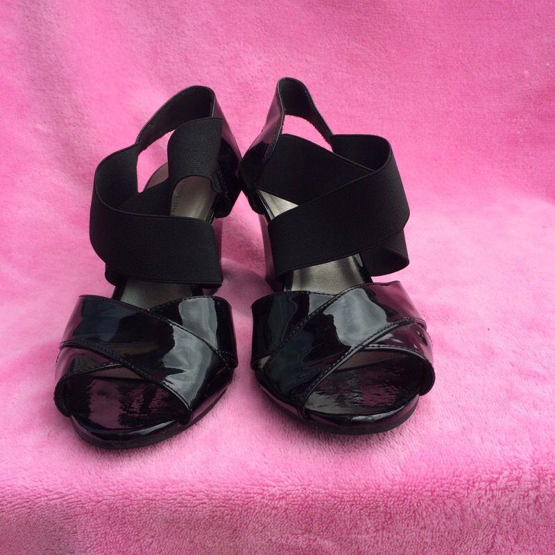 Black summer shoes