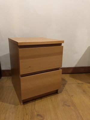IKEA Malm Side table in Natural Wood for Sale in Washington, DC