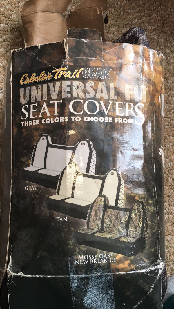 Magnificent Cabelas Trail Gear Universal Seat Cover For Sale In Dailytribune Chair Design For Home Dailytribuneorg