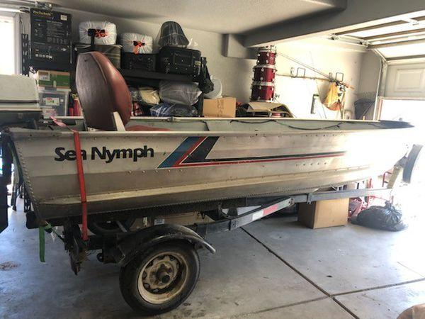 1988 Sea Nymph Aluminum Boat For Sale In Sacramento  Ca
