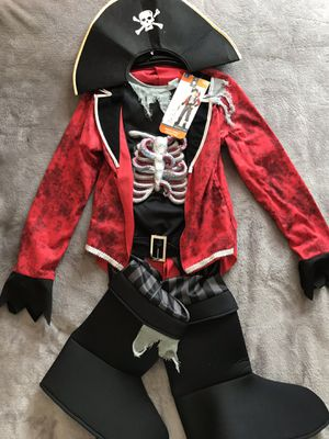 NEW!!! Octopus PIRATE Kids Halloween costume Boys Size Large 12-14 for Sale in Alexandria, VA