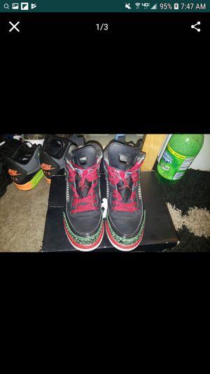best service 4eac4 9e02c Nike Air Jordan Spizike (Black   Varsity Red - Classic Green - White) size