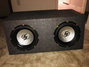 """10"""" Subwoofers with amp RF for Sale in Phoenix, AZ"""