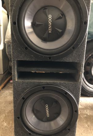 Kenwood Subwoofers 12s for Sale in Dallas, TX
