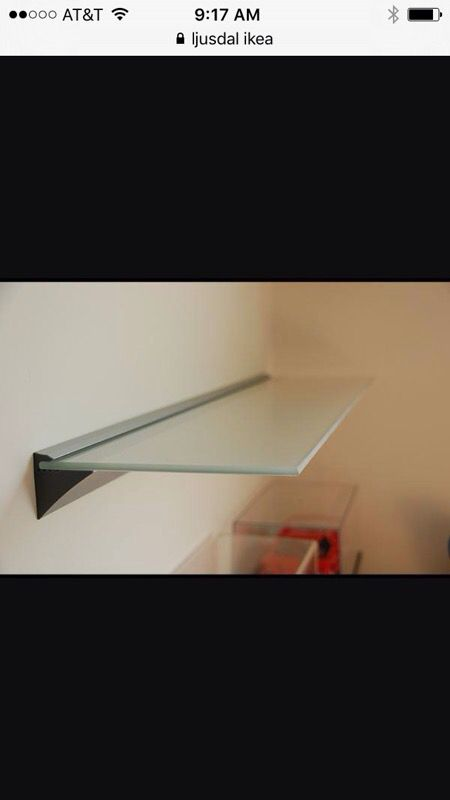 new product 2b1f4 72a2f 2 ikea LJUSDAL glass wall shelves for Sale in Portland, OR - OfferUp