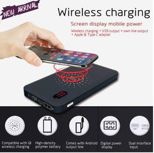 New Wireless Power Bank, 10,000 mAh for Sale in Bowie, MD