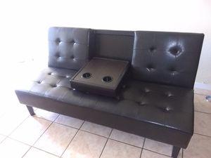 Futon sofa bed. New in the box. Free delivery for Sale in Miami Gardens, FL