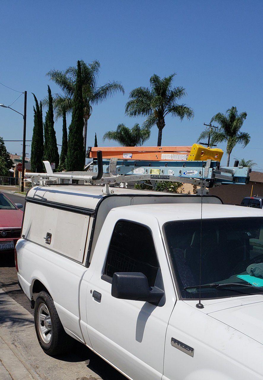 Photo ace utility camper ladder rack and keys