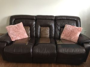 Bonded leather Motion Sofa 🛋 for Sale in Silver Spring, MD