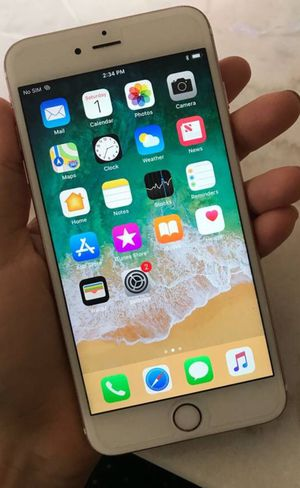 AT&T iPhone 6s Plus ( PLUS READ THE ENTIRE POST) for Sale in Washington, MD