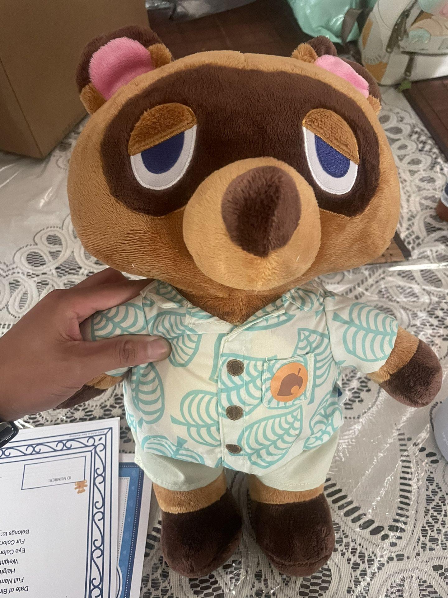 Tom Nook Animal Crossing Build A Bear