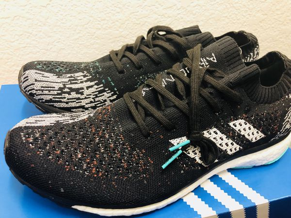 brand new ed343 1afe6 New Mens Adidas Adizero Prime LTD Core Black White Grey CP8922 sz 10.5  Running for Sale in Lancaster, TX - OfferUp