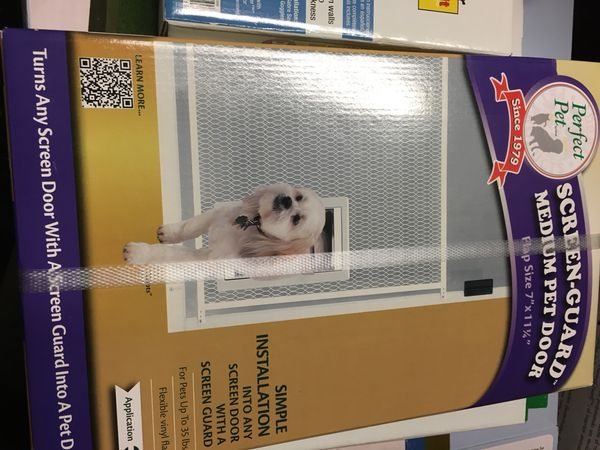 Perfect Pet Scream Guard Dog Door For Sale In Winfield Il Offerup