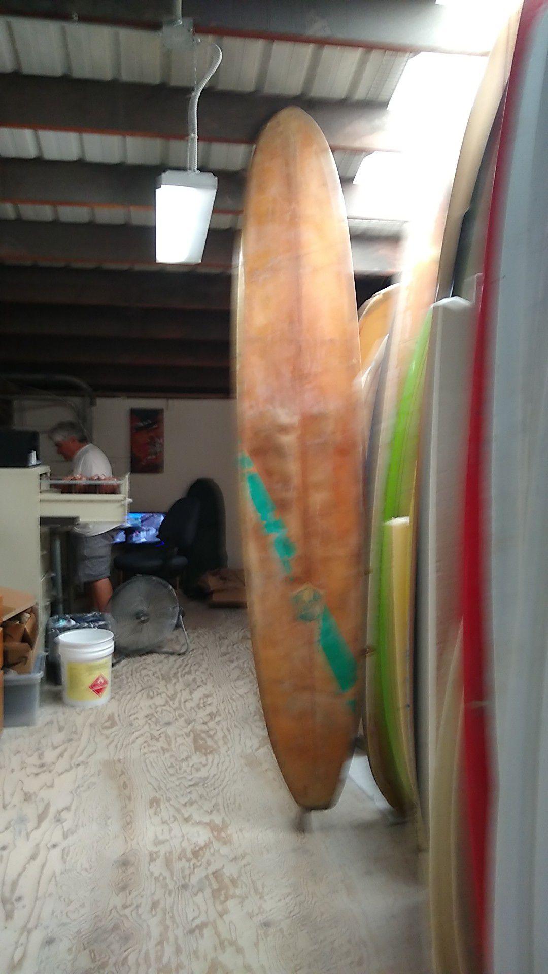 Vintage Velzy longboard