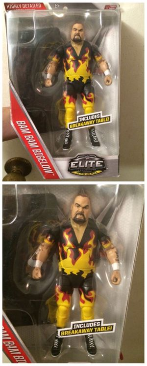 Bam Bam Bigelow WWE ELITE Action Hero Exclusive, Hard to find! for Sale in Tempe, AZ