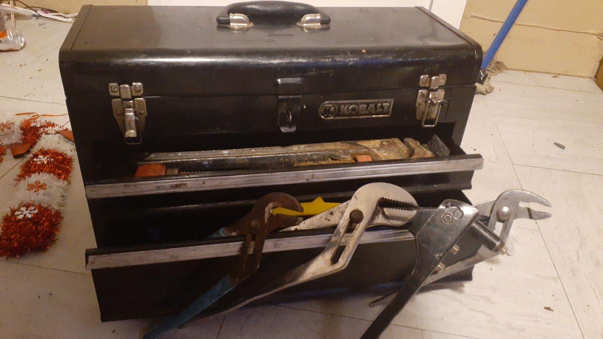 Kobalt tool box nd hand tool