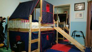 Tent bunker bed w/ slide for Sale in Fort Belvoir, VA