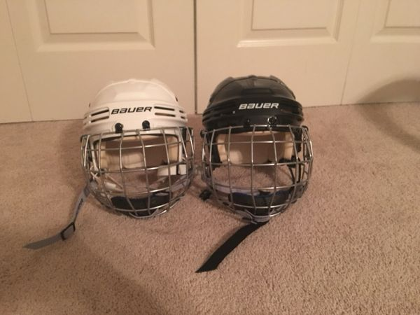 Xs Bauer Youth Hockey Helmets Sold Separately For Sale In Dover