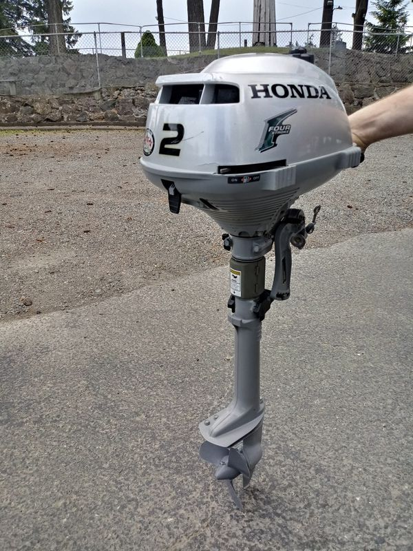 2016 Honda Outboard Boat Motor 2 Hp. VERY CLEAN For Sale