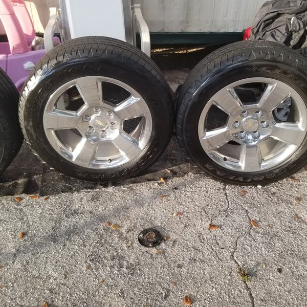 Rims 20s With Tires And Sensor OEM Chevy _gmc-escalade For