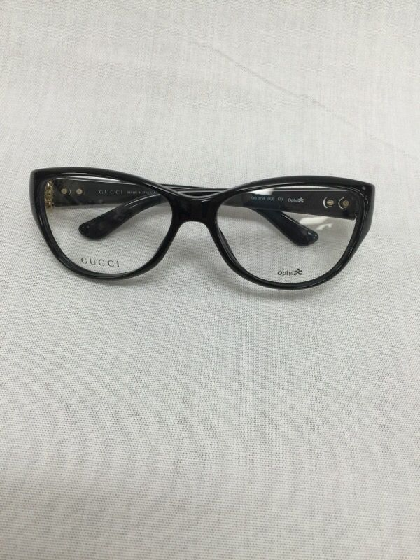 4d30bd24ace60 Brand New Gucci GG3714 D28 Black plastic Eyeglasses for Sale in ...
