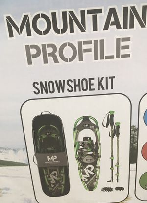 Mountain Profile Snowshoe Kit by Yukon Charlie for Sale in St. Louis, MO