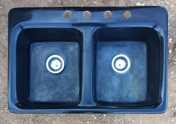 Black Fibergl Double Kitchen Sink By CSIG $35.00. for Sale in ... on cobalt blue basement, cobalt blue pendant light chandelier, cobalt blue flooring, cobalt blue oven, cobalt blue thawne, cobalt blue vessel sink, cobalt blue abstract art, cobalt blue bathtub, cobalt blue romper, cobalt blue bar sink, cobalt blue christmas, cobalt blue farmhouse sinks, cobalt blue pottery, blue cast iron sink, cobalt blue eclipse, cobalt blue marvel, cobalt blue shower, cobalt blue computer, cobalt blue bathroom, cobalt blue animal,