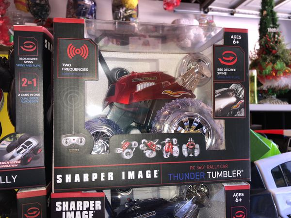 Thunder Tumbler And Flip Stunt And Rally Remote Control Cars For