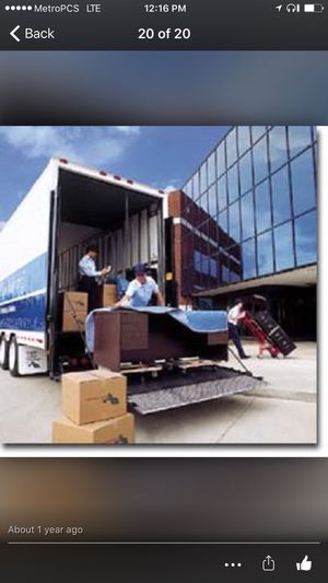 International Moving? All locations, 24/7. Call your moving needs very affordable rates. Patrick: (contact info hidden) call me (contact info hidden) for Sale in Silver Spring, MD