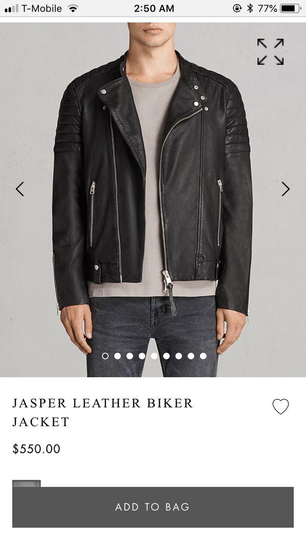 Deisel leather jacket