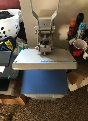 T-Shirt Heat Press for Sale in Pittsburgh, PA