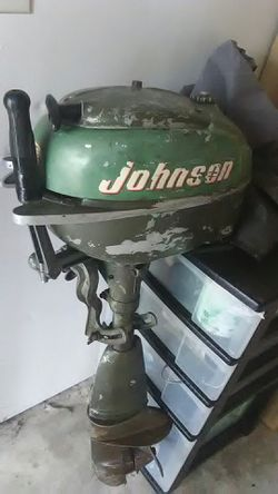 1964 Outbord Johnson Engine Thumbnail